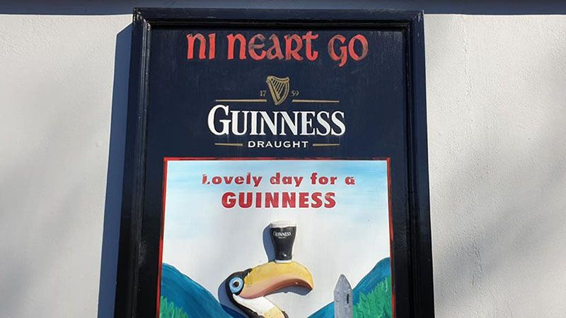 Old school Guinness ad