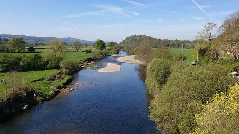 River Towy view near Llandeilo