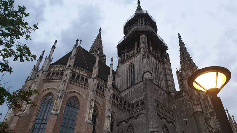 Ulm Minster, the church with the highest steeple in the world at 530 ft