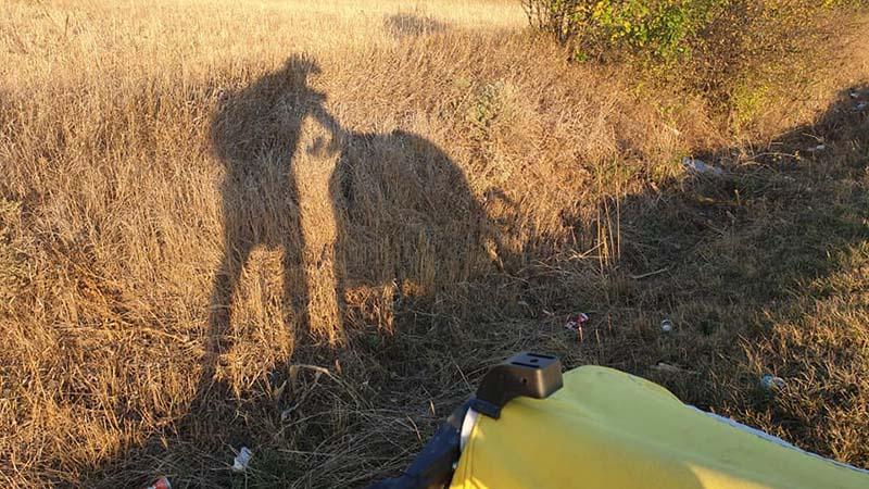 Serbian shadows near Bela Palanka