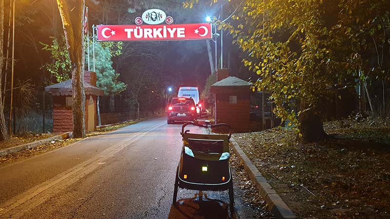Hello Turkey! KOKO covering the final yards of Greece
