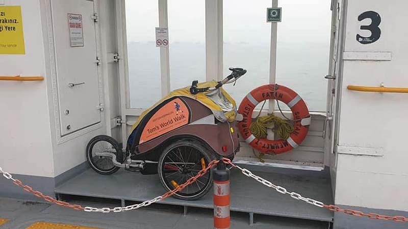 Koko at sea