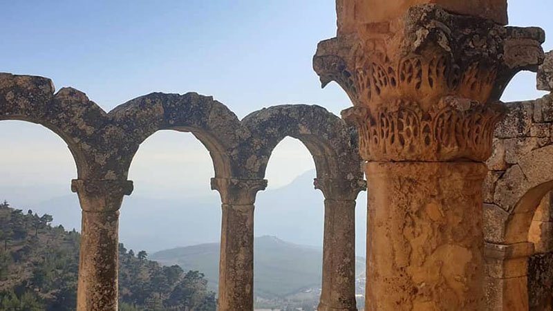 The spellbinding ruins of the near 1000 year old Alahan Monastery near Mut