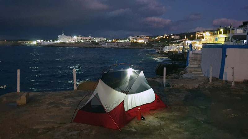 Camped by Anfeh's ancient harbour, a launch point for the ancient Phoenician traders, who also masterminded the first known alphabet