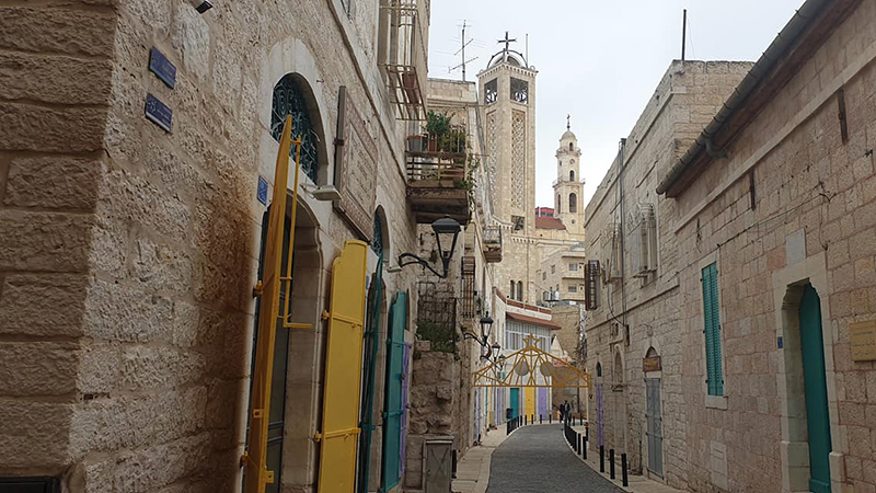 Star Street in Bethlehem, an atmospheric, twisty alley where the three wise men followed the heavenly signs to Jesus's manger
