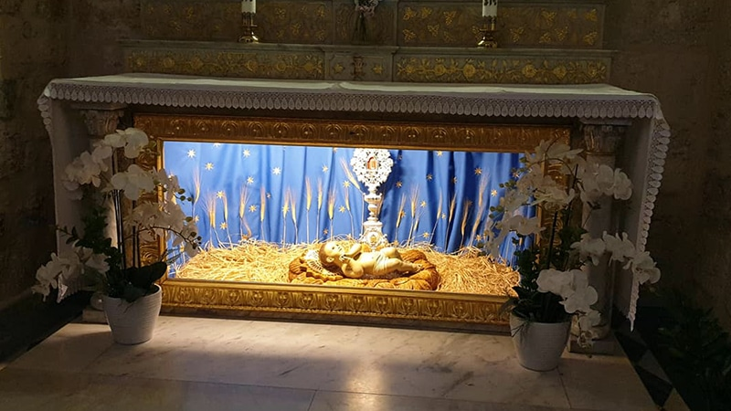 The site where Jesus was born in Bethlehem's ancient Church of the Nativity